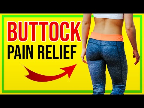 Piriformis Stretch for Buttock Pain, Back Pain and Sciatica [Ep30]