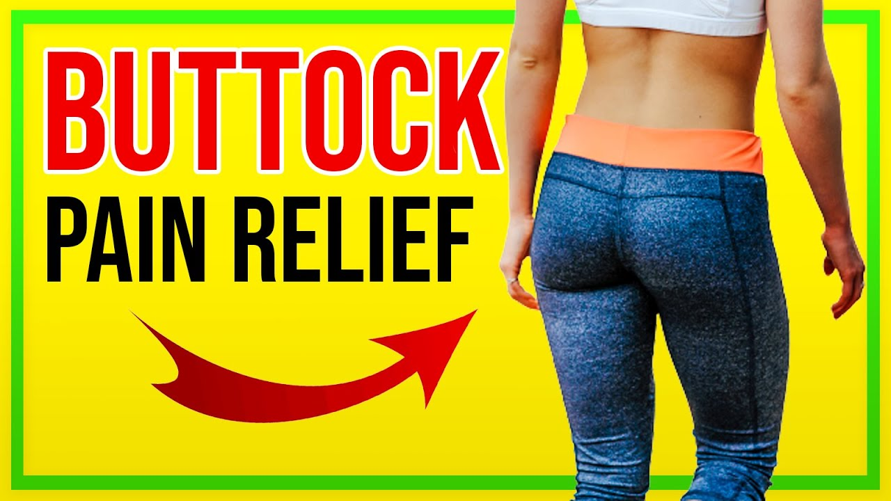 Piriformis Stretch For Buttock Pain Back Pain And