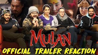 Disney's Mulan - Official Trailer - Group Reaction
