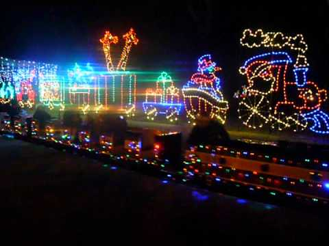 sd zoo mini train ride christmas lights train