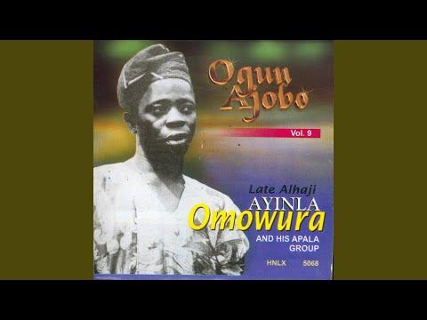 Werewere Lafinsere WA Labule Oko Ogun Ajobo Union Mushin Late Oba Gbadebo II Late Salami Anu...