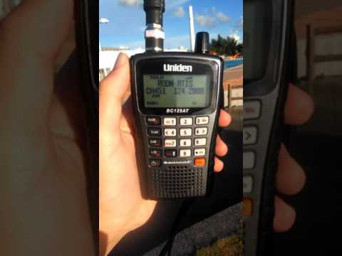 RODN (Kadena,Okinawa US Air Base) ATIS on VHF Band (Automatic Terminal Information Service)