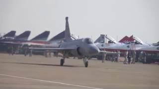 (4K) 巴基斯坦空軍 Pakistan Air Force 梟龍戰機 FC-1 Fighter China 1地面滑行