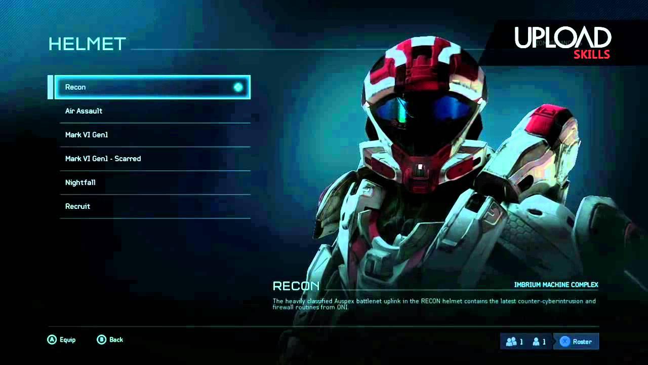 Halo 5   Recon helmet unlock
