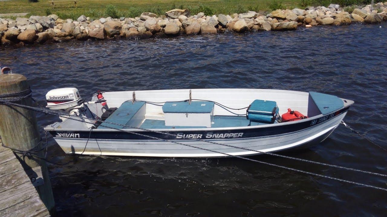Sylvan super snapper 14 39 youtube for Sylvan fishing boats