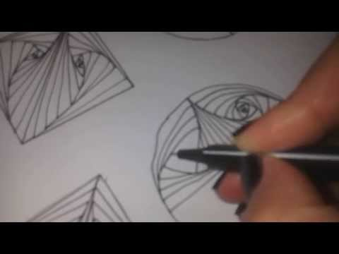 How to draw PARADOX tangle pattern