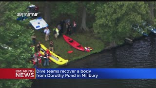 Dive Teams Recover Body From Pond In Millbury