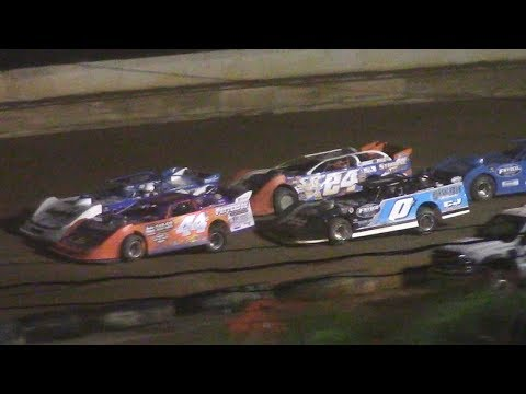 ULMS Super Late Model Feature | Hesston Speedway | 7-1-17
