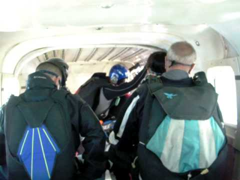 Jumping Out of a Cessna Caravan at Skydive Palatka