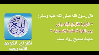 Download Quran karim mp3 android - Holy Quran