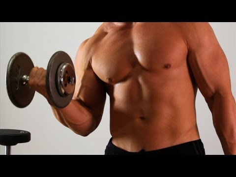 How to Do an Alternate Dumbbell Curl | Arm Workout