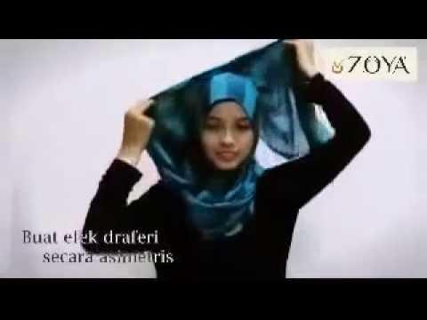 Tutorial Hijab Pashmina Blossom Wonder Tara Zoya Tutorial Hijab Modern Model Hijab Terbaru Youtube