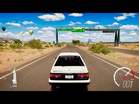 Forza Horizon 3 Toyota Sprinter Trueno GT Apex (AE86)