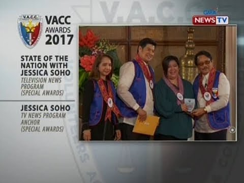 SONA: Mga programa at personalidad ng GMA Network, pinarangalan sa 19th Founding Anniversary ng VACC