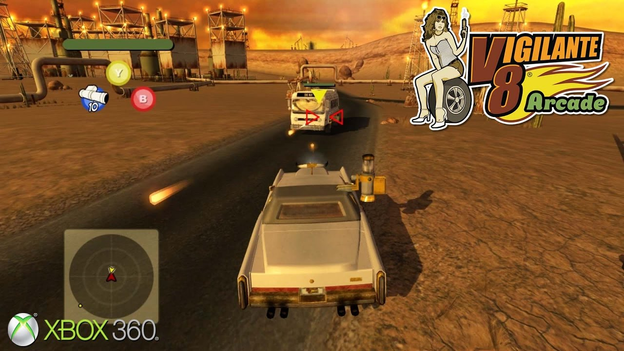 Car Shooting Games D