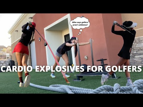 Cardio Explosive Workout for Golfers - Hit the Ball Farther!