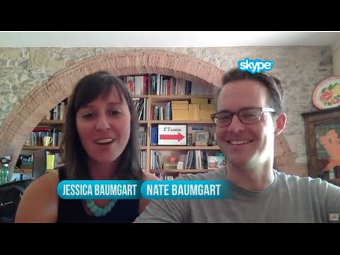'Round The World Couple Jess And Nate Baumgart