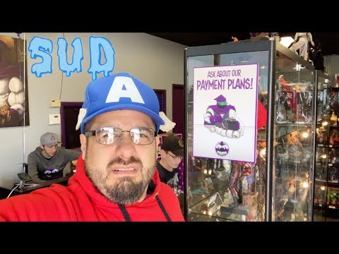 sud-at-megalopolis-city-of-collectibles-(stuck-up-dork)-action-figure-tour-video