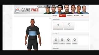 FIFA 13 Game Face