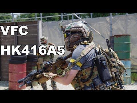 VFC HK416A5 GBBR Gameplay! @東京サバゲパーク