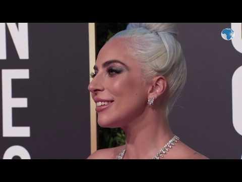Lady Gaga, Nicole Kidman, Glenn Close, Bradley Cooper, Christian Bale at the Golden Globes Awards