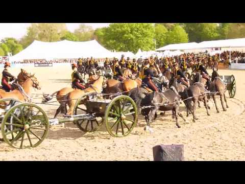 Musical Drive Of The King's Troop Royal Horse Artillery