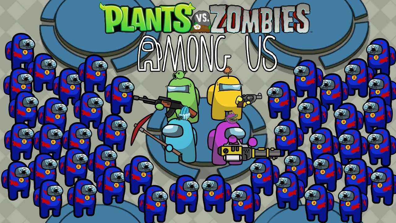 Among Us Zombie Season 1 - Ep6 - Among Us Zombie Vs All Plants Animation