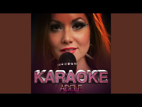 Crazy for You (In the Style of Adele) (Karaoke Version)