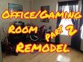 Home office/Gaming room remodel. Speed u
