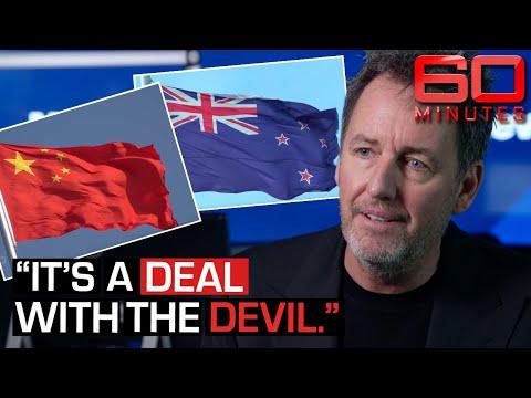 Dollars VS Decency: Is China taking over New Zealand?   60 Minutes Australia