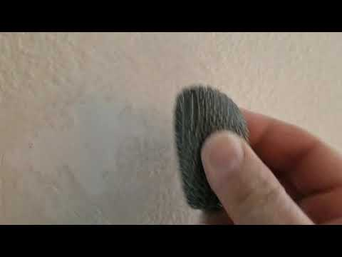 How To Repair Orange-peel Wall Texture Bump Professionally