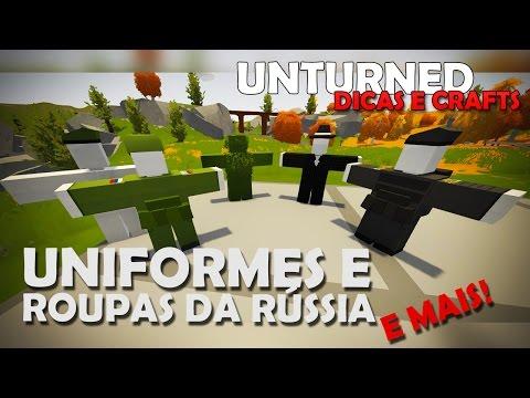 Unturned Dicas e Crafts: Uniformes e Ghillie da Russia, Roupa da Máfia e Mais!