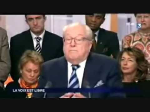 """Jean Marie Le Pen : """"En cas de guerre avec l\"""
