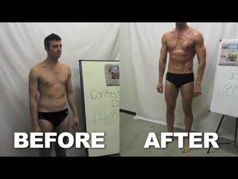 My 12 week BODY TRANSFORMATION   Golds Gym Challenge COMPLETE