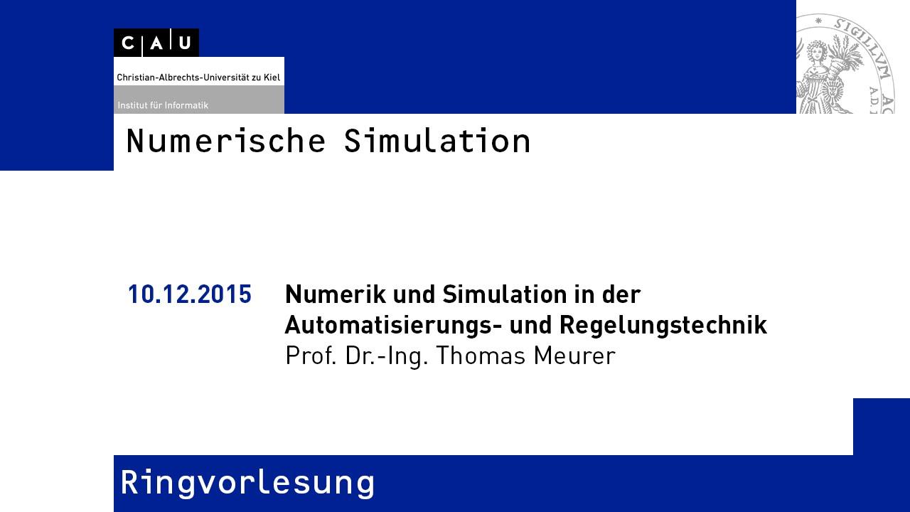 numerik und simulation in der automatisierungs und. Black Bedroom Furniture Sets. Home Design Ideas