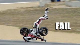 AMAZING FAIL & CRASH COMPILATION OF MOTORCYCLE - BEST COMPILATION !!!