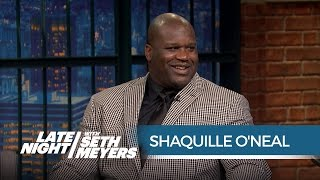 Shaquille O'Neal on Kobe Bryant's Retirement Poem - Late Night with Seth Meyers