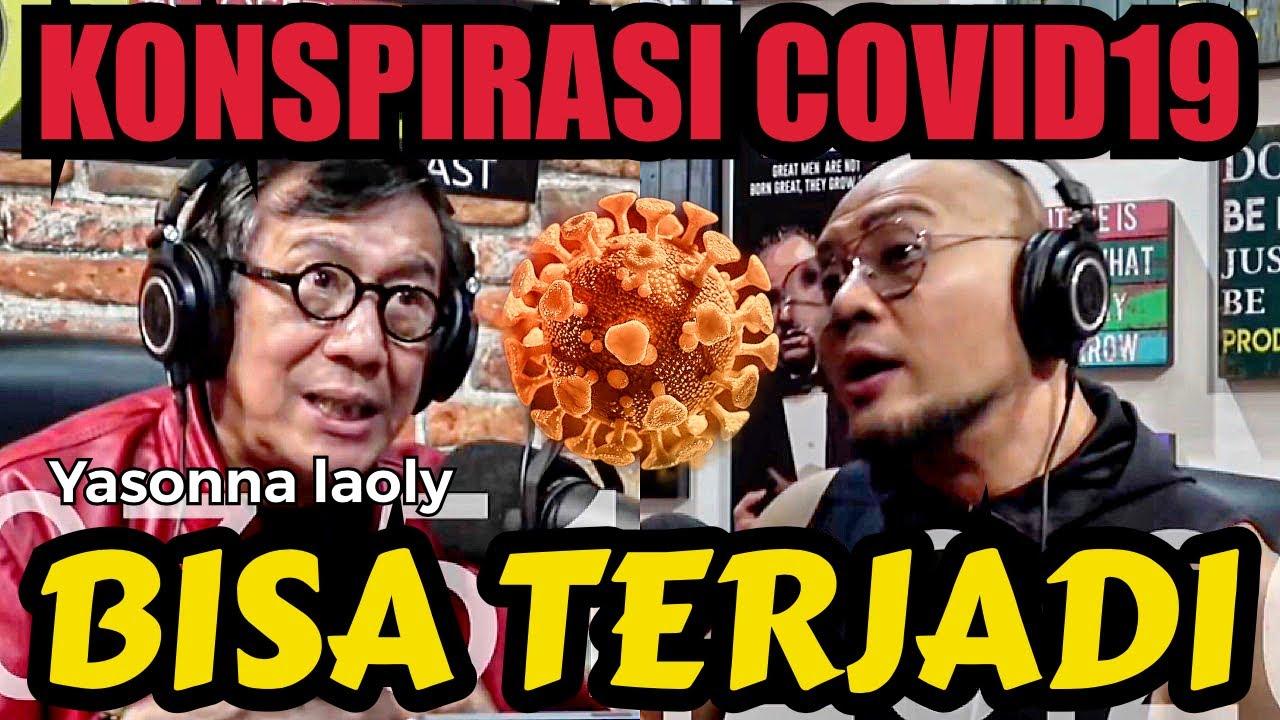 KONSPIRASI COVID19 kata siapa salah? ... (Feat Yasonna Laoly)