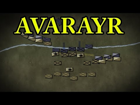 Battle of Avarayr 451 AD