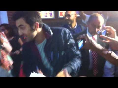 Ranbir Kapoor at Cineworld Feltham Monday August 27th 2012