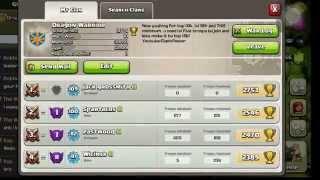Clash Of Clans Donation Celebration Secret Video