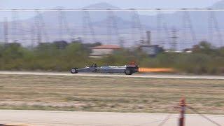Smoke-N-Thunder Jet Car @ Davis-Monthan AFB 2016