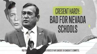 Cresent Hardy is bad for Nevada schools. thumbnail