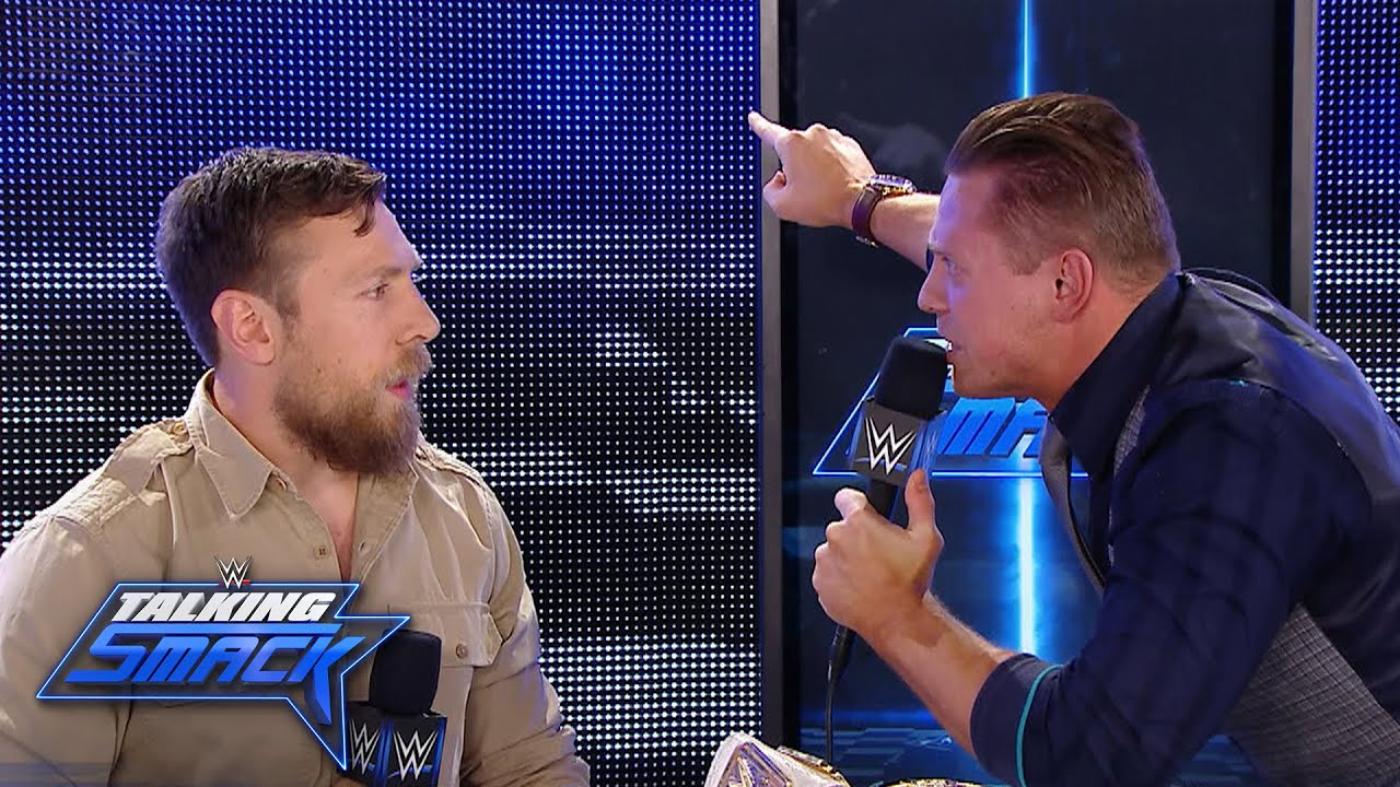 Image result for daniel bryan and the miz talking smack