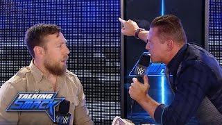 Daniel Bryan's comment strikes a nerve and The Miz loses control on...