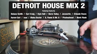 Detroit House Mix 2 | With Tracklist | Vinyl Mix