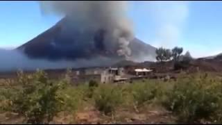 Erupção na ilha do Fogo 2014