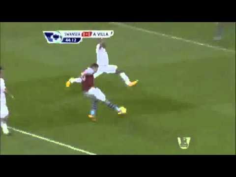 Andreas Weimann goal vs. Swansea