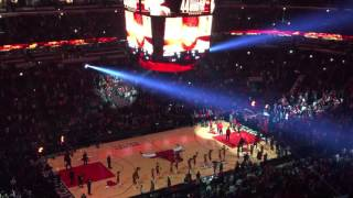 Chicago Bulls 2015-16 intros at the UC