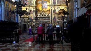 Греческая православная служба в Венеции(Православная греческая служба в церкви San Giorgio dei Greci, построенной в XVI веке греческими беженцами из Констант..., 2016-05-22T17:59:35.000Z)